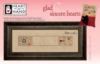 Heart In Hand ~ Glad & Sincere Hearts w/embs. ~ Part 2