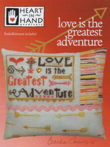 Heart In Hand ~ Love is the Greatest Adventure w/embs.
