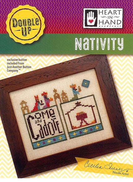 Heart In Hand ~ Double Up: Nativity w/emb.