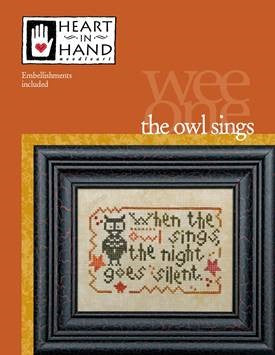 Heart In Hand ~ Owl Sings w/embs