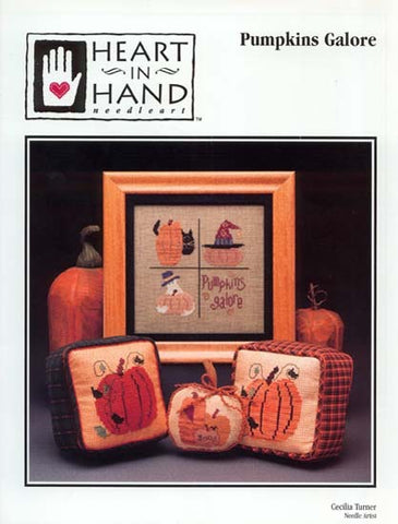 Heart In Hand ~ Pumpkins Galore