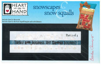 Heart In Hand ~ Snowscapes & Snow Squalls Part 2 w/emb