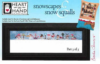 Heart In Hand ~ Snowscapes & Snow Squalls Part 3 w/emb