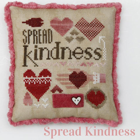 Heart In Hand ~ Spread Kindness w/embs