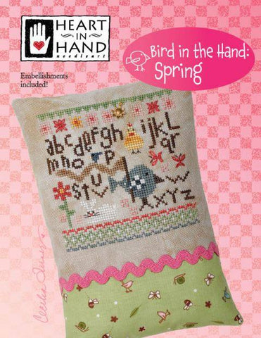 Heart In Hand ~ Bird in the Hand: Spring w/emb