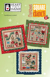 Heart In Hand ~ Christmas Square Dance #3 w/embellishments