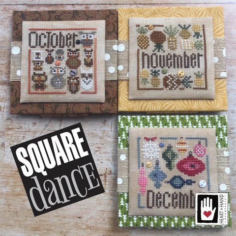 Heart In Hand ~ Square Dance: Oct thru Dec w/embs