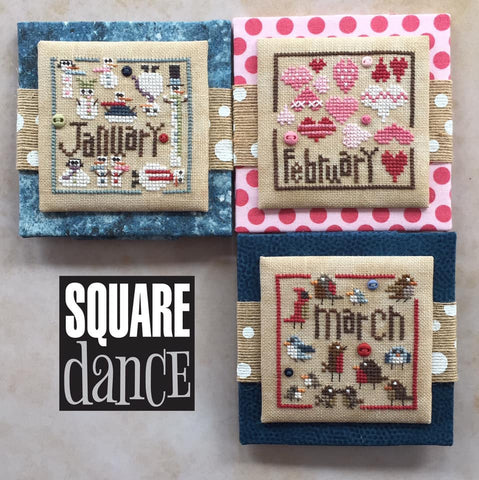 Heart In Hand ~ Square Dance: Jan thru March w/embs