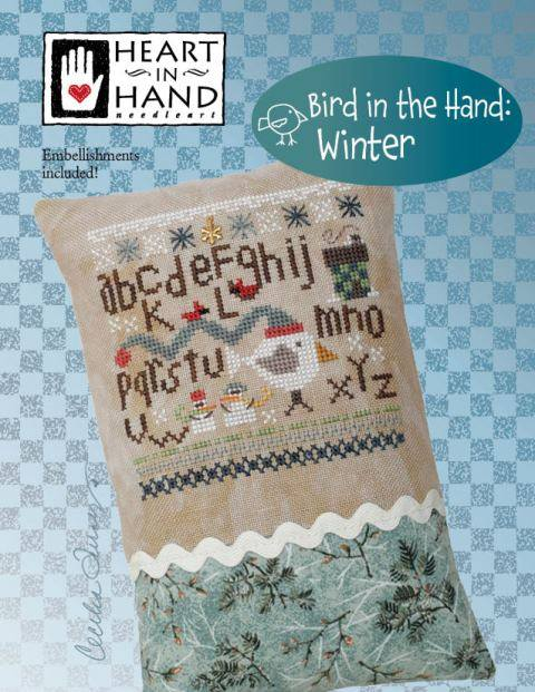 Heart In Hand ~ Bird in the Hand: Winter w/emb