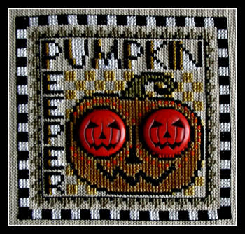 Hinzeit ~ Wordplay - Pumpkin Peeper w/pumpkins