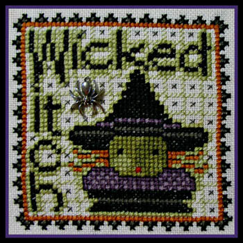 Hinzeit ~ Wordplay - Wicked Witch w/charm