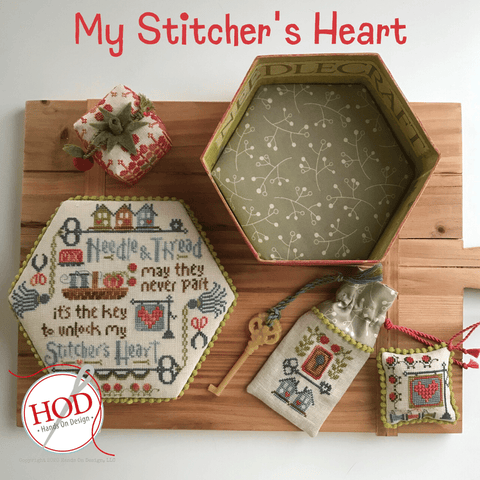 Hands On Design ~ My Stitcher's Heart