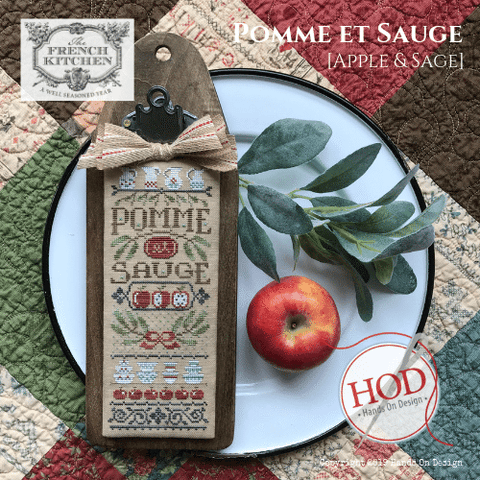 Hands On Design ~ [The French Kitchen] Pomme et Sauge (Apples & Sage)