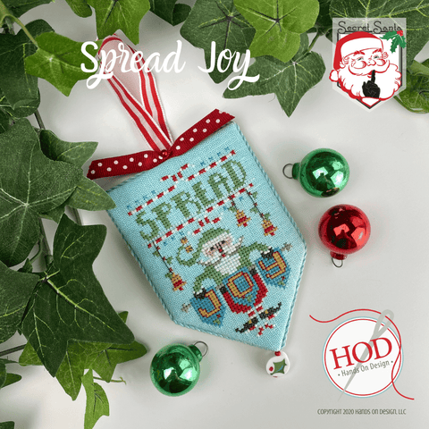 Hands On Design ~ Secret Santa - Spread Joy
