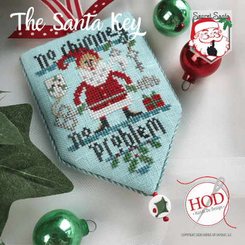 Hands On Design ~ Secret Santa - The Santa Key