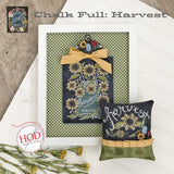 Hands On Design ~ Chalk Full:  Harvest Pattern