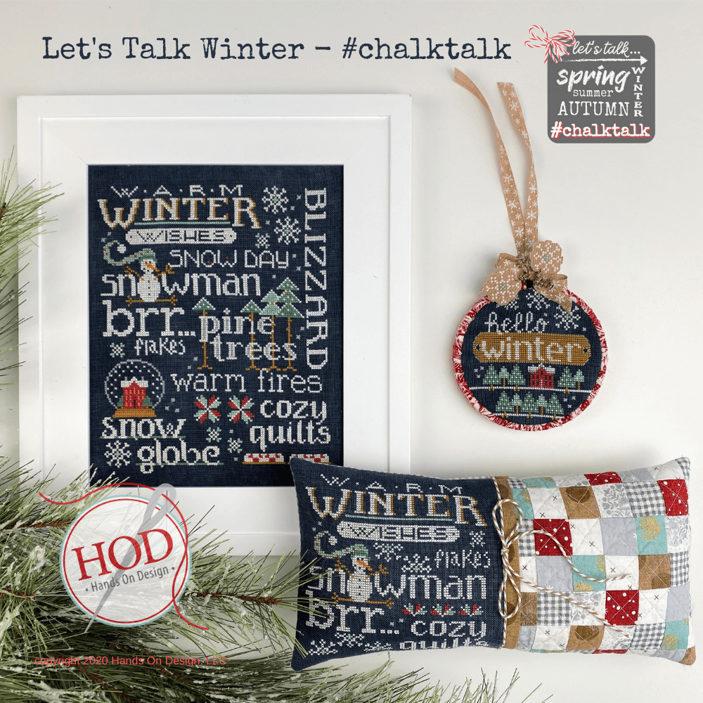 Hands On Design ~ Let's Talk Winter (Chalk Talk)