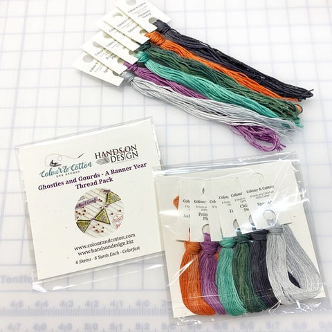 Colour & Cotton FLOSS PACK for Hands On Design ~ Ghosties & Gourds