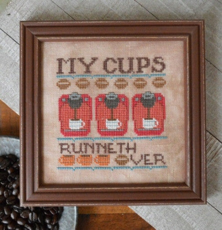 Hands On Design ~ My Cups Runneth Over ~ Cool Beans Series