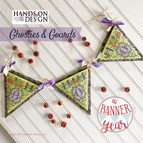 Hands On Design ~ Ghosties & Gourds