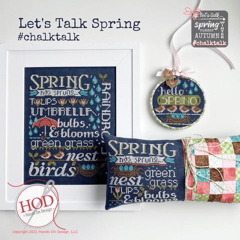 Hands On Design ~ Let's Talk Spring
