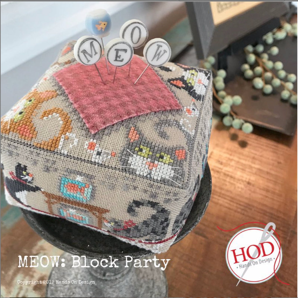 Hands On Design ~ Block Party: Meow