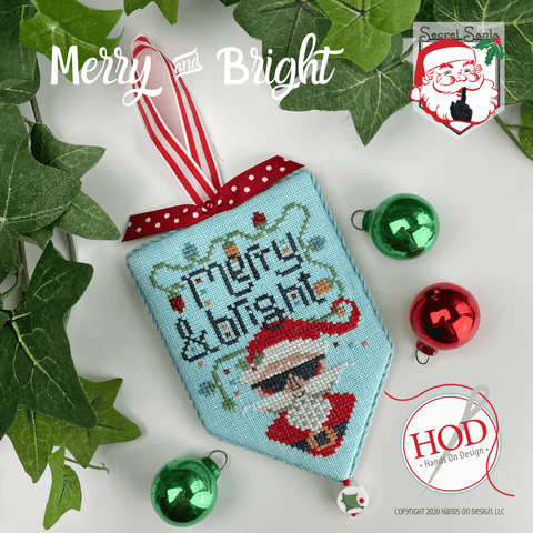 Hands On Design ~ Secret Santa - Merry & Bright