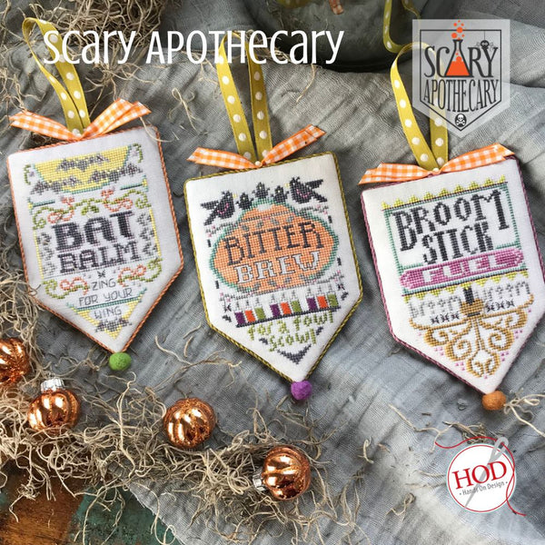 Broom Stick Bunny Mirror: Scary Apothecary Series