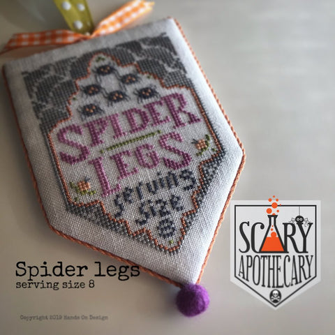 Hands On Design ~ Scary Apothecary Series ~ Spider Legs
