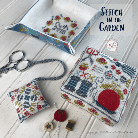 Hands On Design ~ Stitch in the Garden
