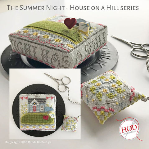 Hands On Design ~ House On A Hill Series - Summer Night