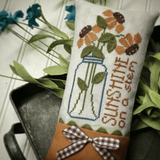 Hands On Design ~ Sunshine On A Stem (with wool for leaves!)