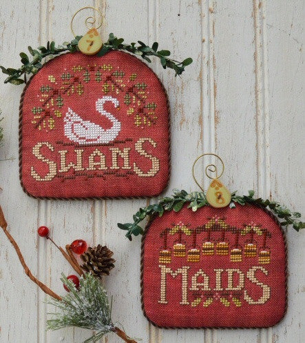 Hands On Design ~ 12 Days Swans & Maids (part 4)