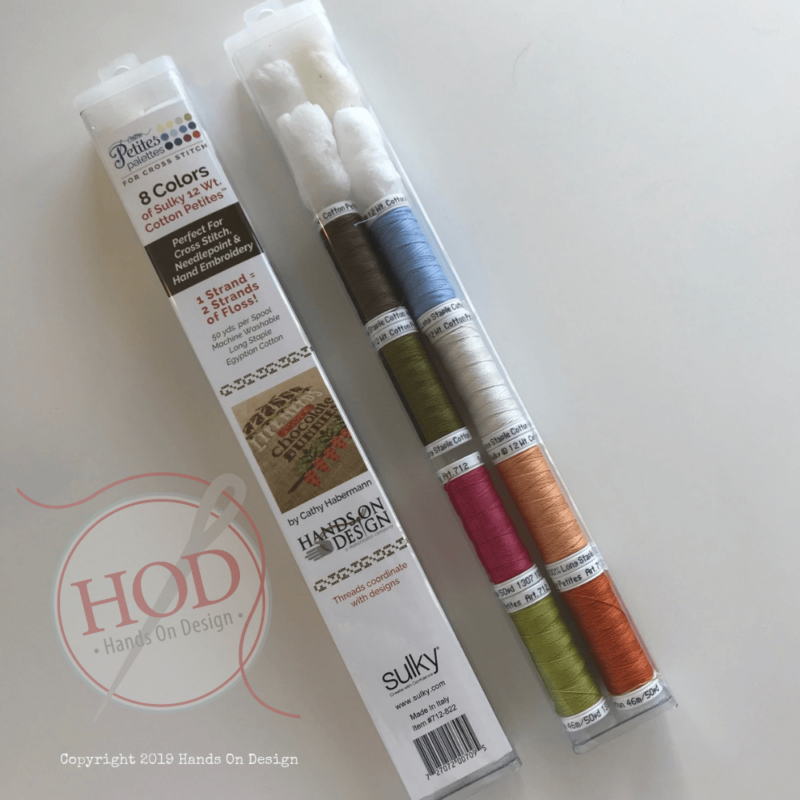 Hands On Design ~ Hop On Inn/More Chocolate Bunnies Sulky Floss Pack
