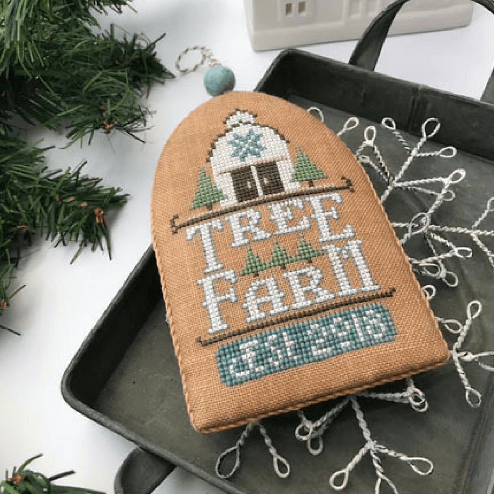 Hands On Design ~ White Christmas Series  ~ Tree Farm