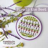 Hands On Design ~ Turnip the Beet (cute play on words isn't it?)