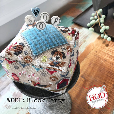 Hands On Design ~ Block Party: Woof