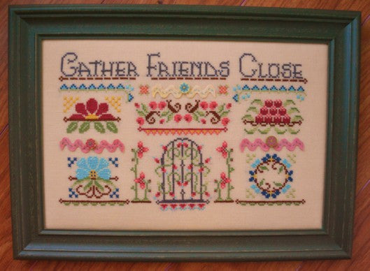 Hands On Design ~ Gather Stitching Friends Close Parts 1 - 3 (Set)