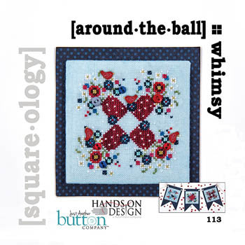 Hands On/JABC Square-ology ~ Around The Ball w/embs.