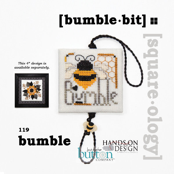 Hands On/JABC Square-ology ~ Bumble Bit w/embs.