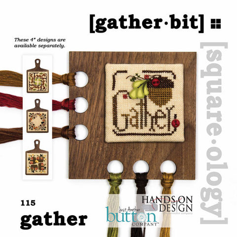 Hands On/JABC Square-ology ~ Gather Bit w/embs.