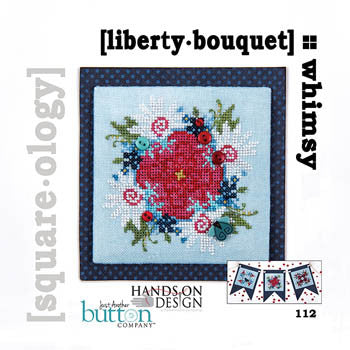 Hands On/JABC Square-ology ~ Liberty Bouquet w/embs.