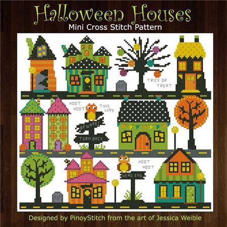 Hooties Collection/Pinoy Stitch ~ Halloween Houses