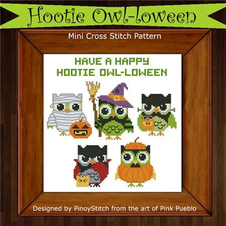 Hooties Collection/Pinoy Stitch ~ Owl-loween
