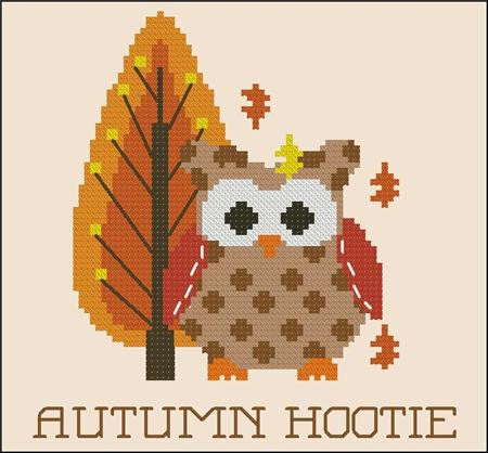 Hooties Collection/Pinoy Stitch ~ Autumn Hootie