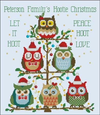 Hooties Collection/Pinoy Stitch ~ Christmas Tree (Customizable)