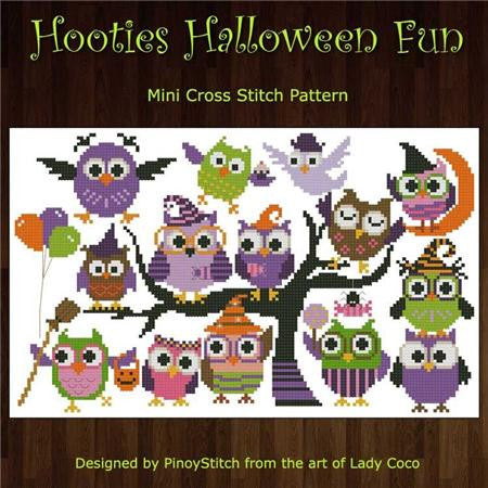 Hooties Collection/Pinoy Stitch ~ Halloween Fun