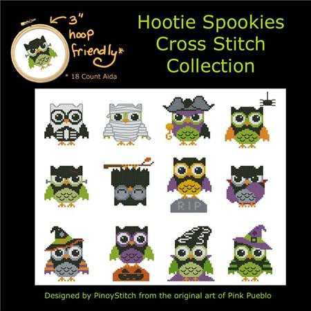 Hooties Collection/Pinoy Stitch ~ Spookies Mini Collection