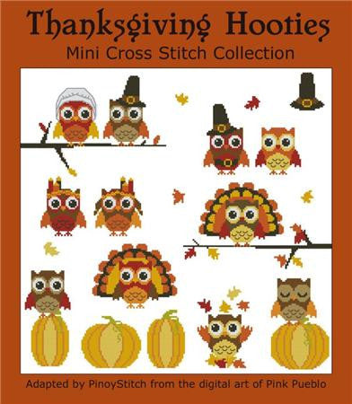 Hooties Collection/Pinoy Stitch ~ Thanksgiving Mini Collection