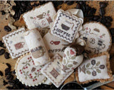 Heartstring Samplery ~ Festive Little Fobs 12 - Coffee Edition